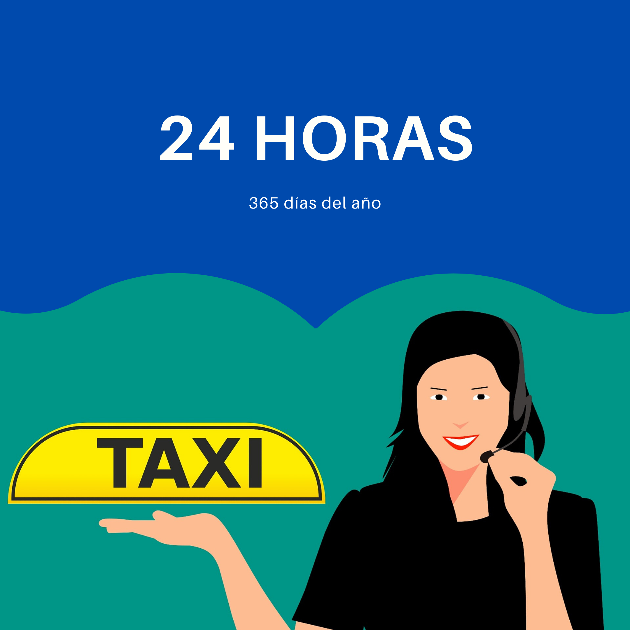 Taxi 24 horas en Calonge
